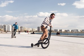 Halfbike II – Compact and Light Tricycle by Kolelinia