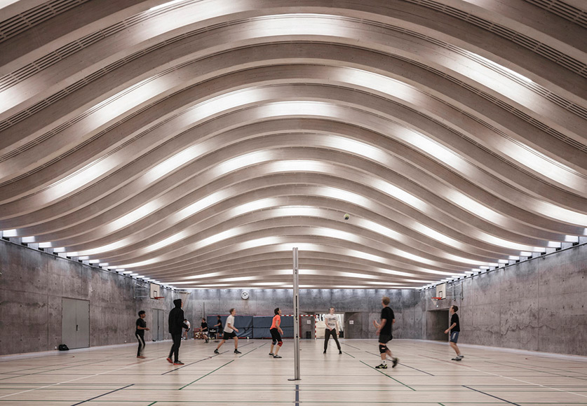 BIG Completes Sports & Arts Expansion at Gl. Hellerup Gymnasium
