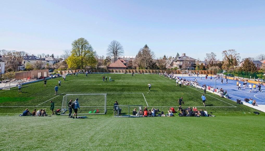 BIG Completes Sports & Arts Expansion at Gl. Hellerup Gymnasium