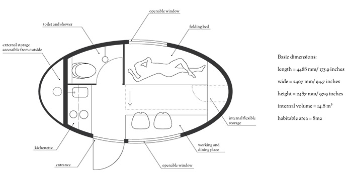 Compact Living:: Ecocapsule by Nice Architects