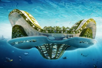 City of the Future:: Lilypad by Vincent Callebaut Architectures