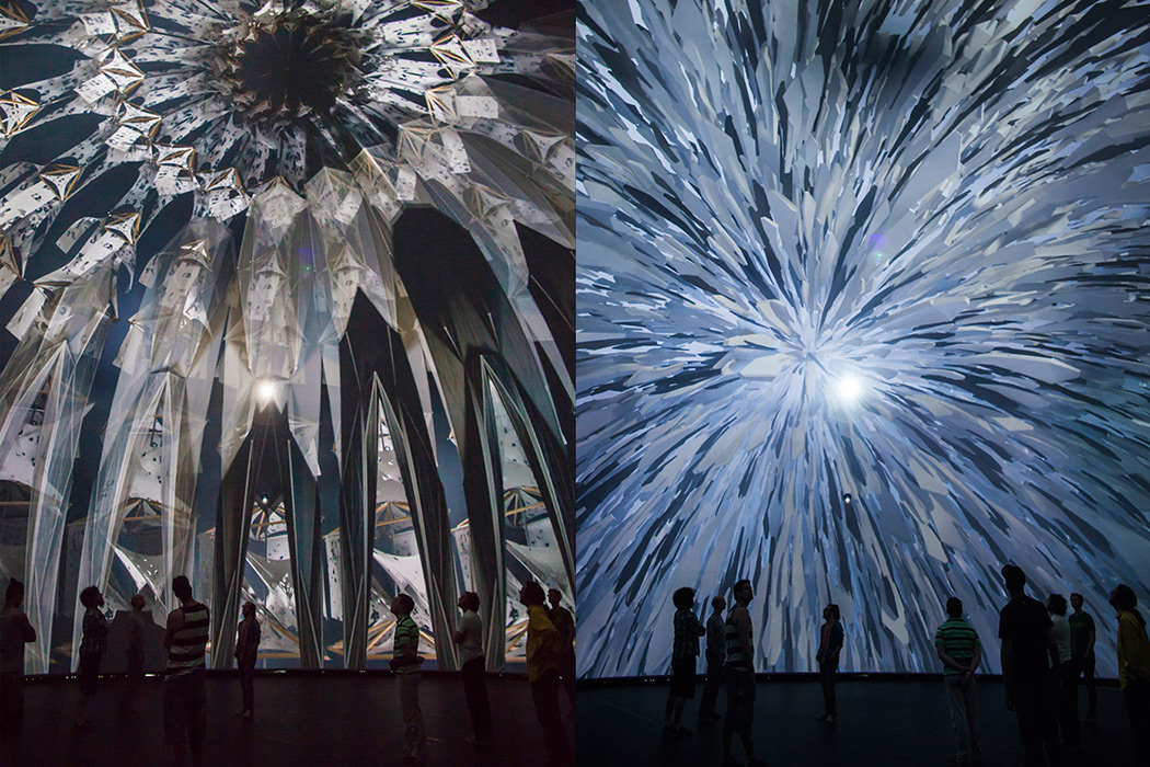 Cocoon - Spherical Video Installation by Factory Fifteen