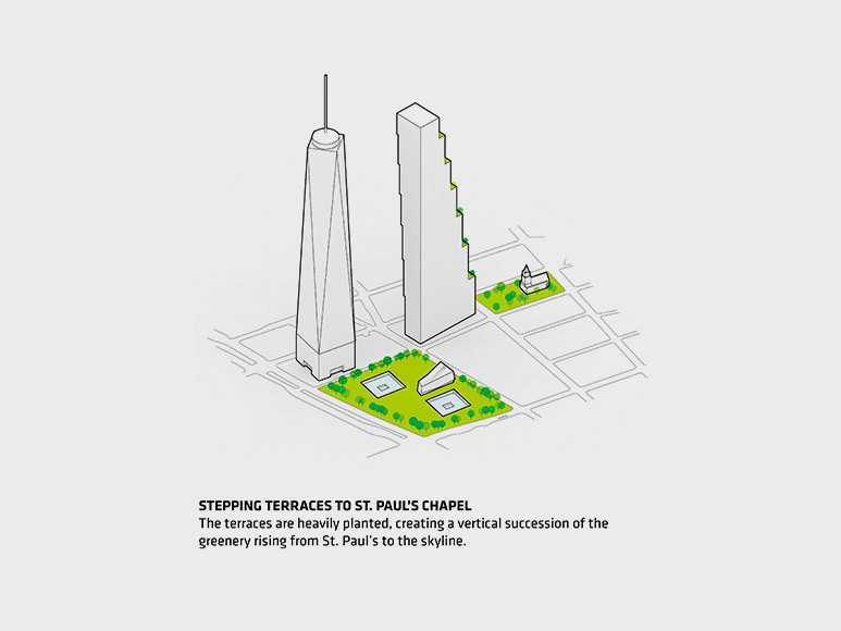 BIG Unveils 2 World Trade Center in New York City