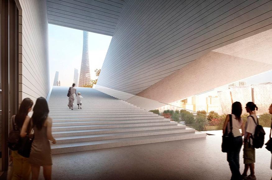 Guangzhou City Museum by Architekten von Gerkan, Marg und Partner