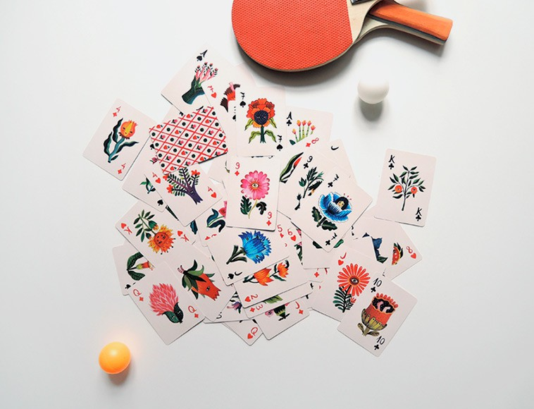 'Flora Magica' - Custom Playing Cards by Aitch