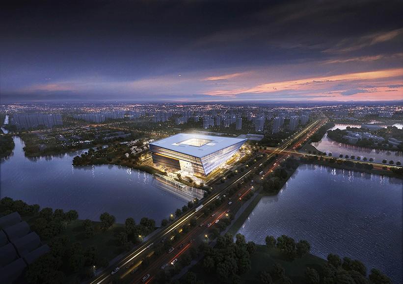 Suzhou Library by Architekten von Gerkan, Marg und Partner