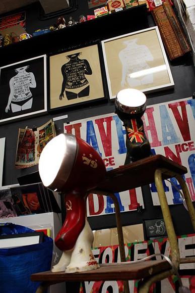 'Urban Lights' - Sculptural Robot Lamps by Nanan