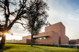 Auditorium Theatre of Llinars del Valles by Álvaro Siza Vieira