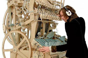 Martin Molin's 'Marble Machine'