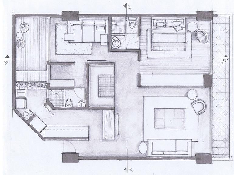 Hegel Apartment by Arqmov Workshop