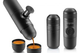 Minipresso – Hand-Powered Portable Espresso Maker by Wacaco