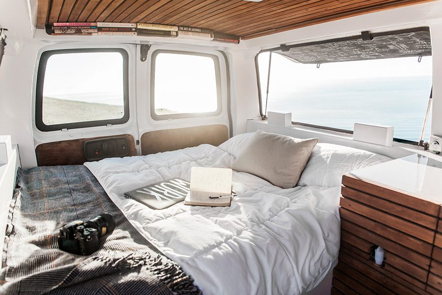 Compact Living:: The Vanual, or How to Convert an Old Rusty Van into a Mobile Home