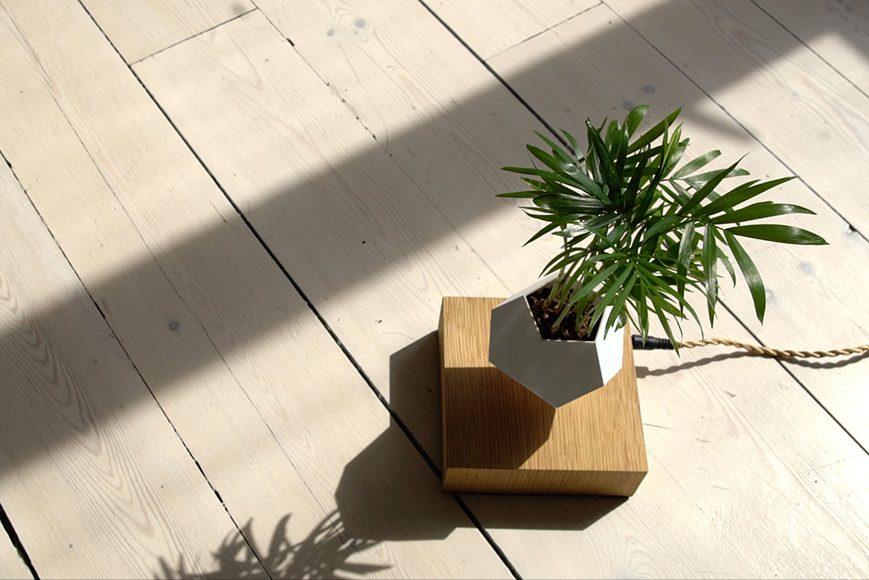 LYFE - Levitating Planter by Simon Morris