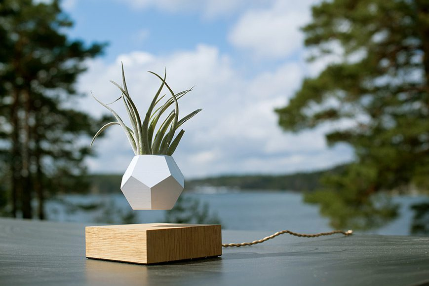 LYFE - Levitating Planter by Simon Morris