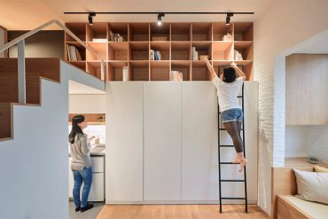 Compact Living:: 22 Sqm Apartment in Taipei by A Little Design