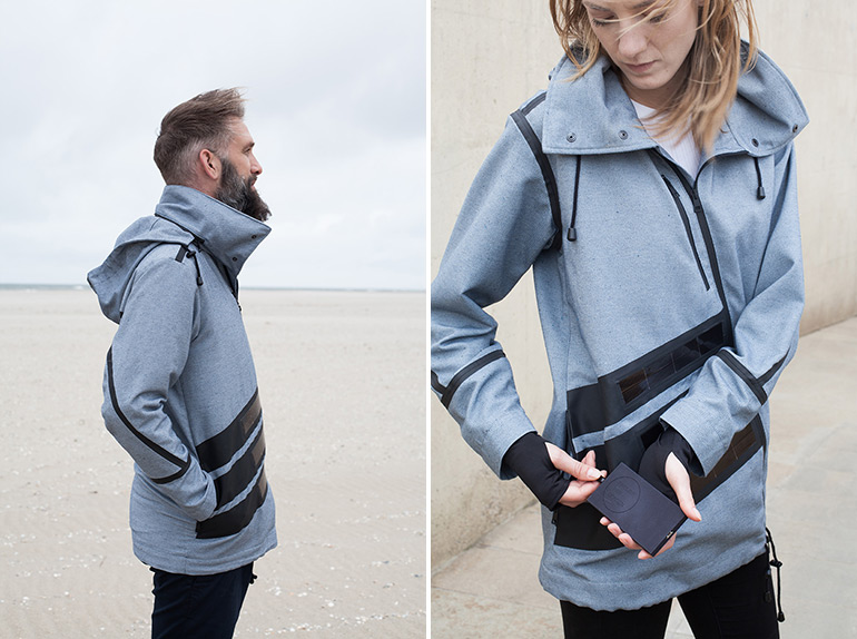 Solar Windbreaker By Pauline Van Dongen And Blue Loop