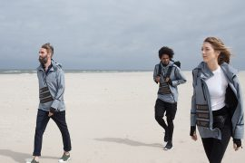 Solar Windbreaker by Pauline van Dongen and Blue LOOP Originals