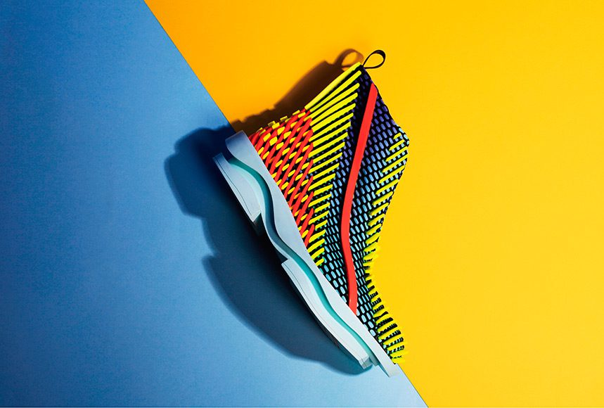 'The Layering Movement' Footwear Collection by Chengxu Tian (Photo: Chenchen & Yining Jin)