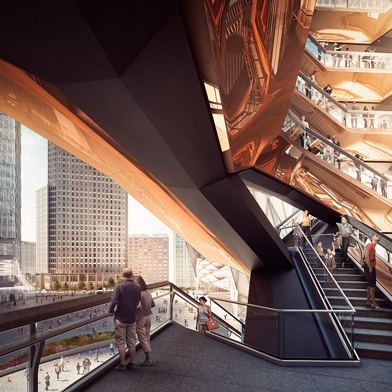 Vessel, New York City's Future Public Landmark by Heatherwick Studio