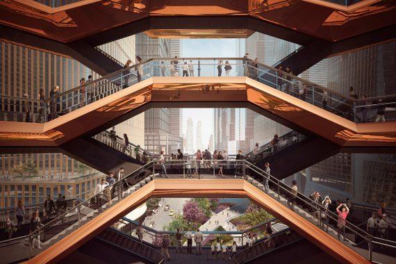 Thomas Heatherwick Unveiled 'Vessel', New York City's Future Public Landmark