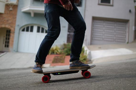 Elwing, World's Most Compact Electric Skateboard