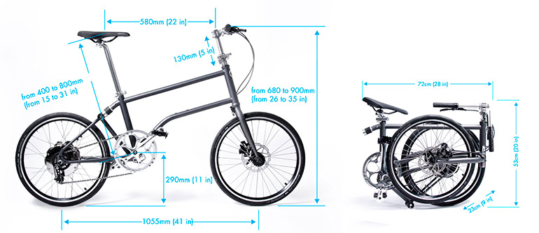 Vello Bike The First Self Charging Folding Electric Bicycle