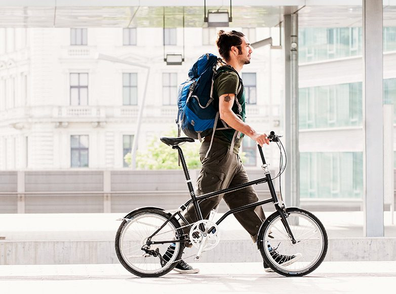 VELLO BIKE+, the First Self-Charging Folding Electric Bicycle