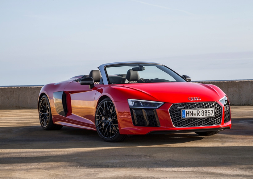 The Second Generation of the Audi R8 Spyder