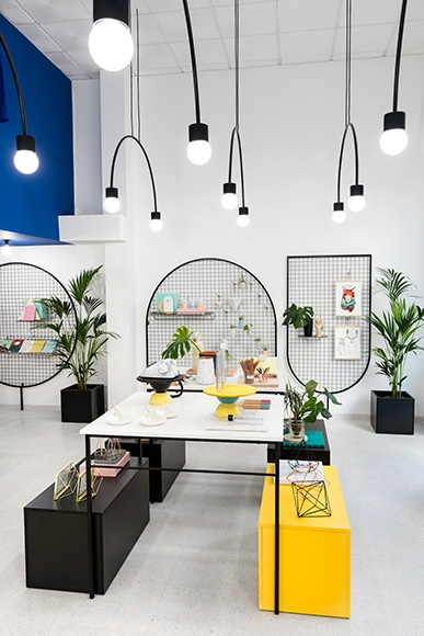 Gnomo Lifestyle Shop in Valencia by Masquespacio
