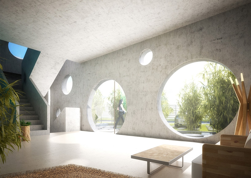 Futuristic Y-Shaped Weekend House in Taiwan by MVRDV and KAI Architects