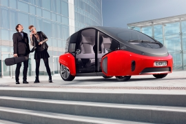 Rinspeed Oasis, Self-Driving Car Of Tomorrow