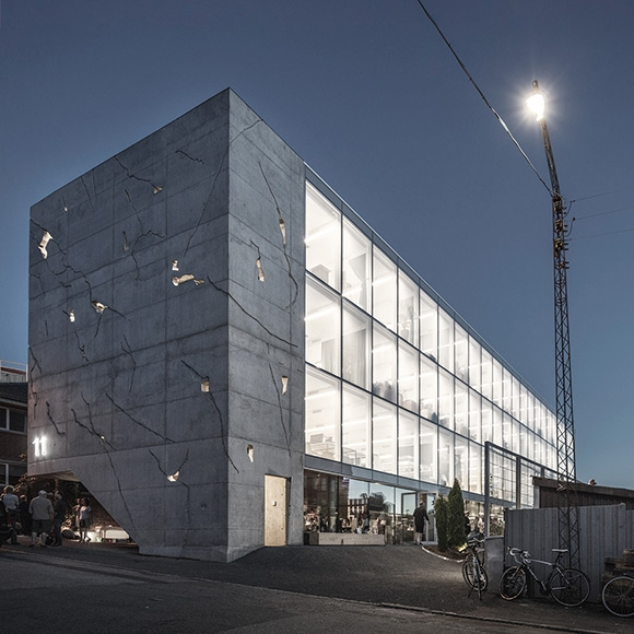 Sonnesgade 11 Office Building in Aarhus by SLETH