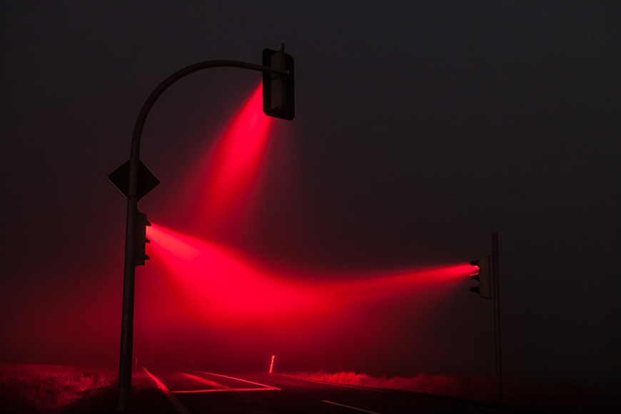 'Traffic Lights' Photo Series by Lucas Zimmermann
