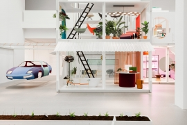 'House of Wonders' Exhibition by Studio Aisslinger