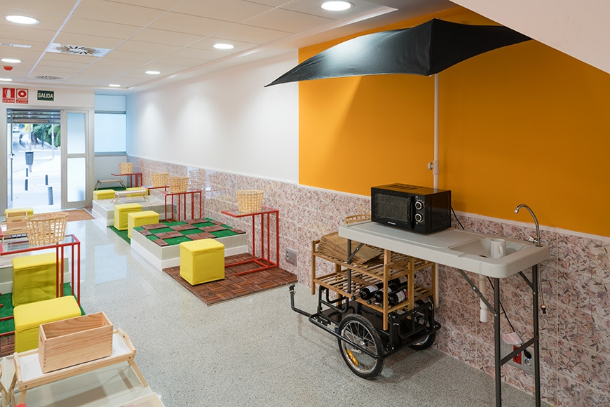 'Conde de Casal' Coworking Space in Madrid by Izaskun Chinchilla Architects