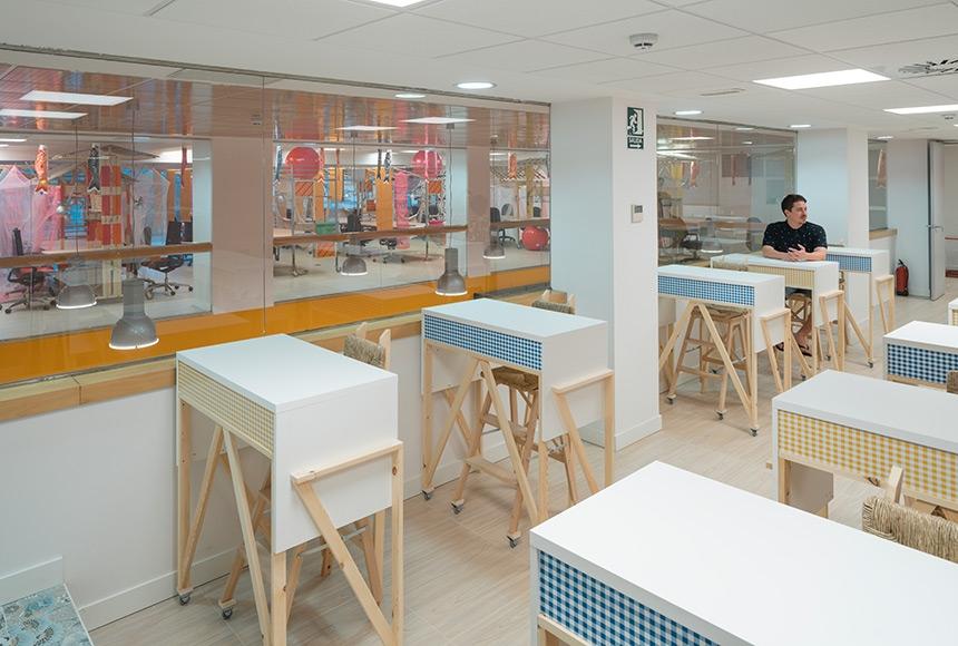'Conde de Casal' Coworking Space in Madrid by Izaskun Chinchilla Architects