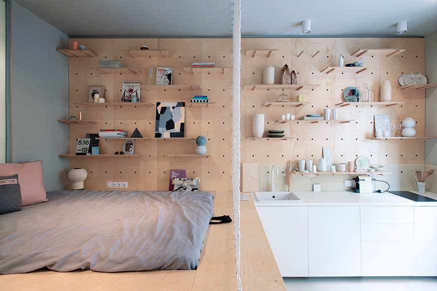 'AirBnP' Apartment in Budapest by POSITION Collective