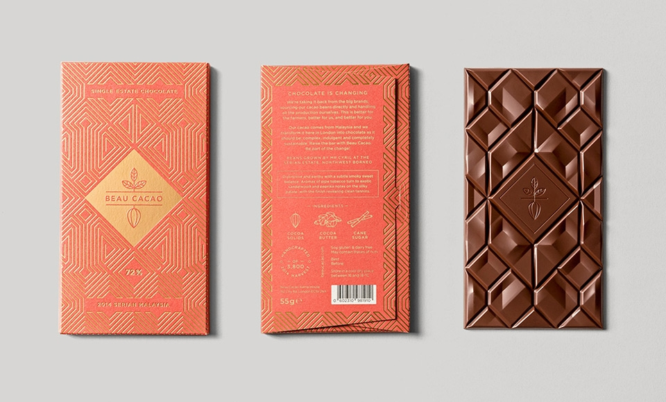 Modern Chocolate Bar