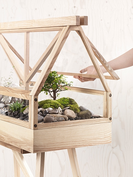 The Greenhouse Terrarium by Atelier 2+