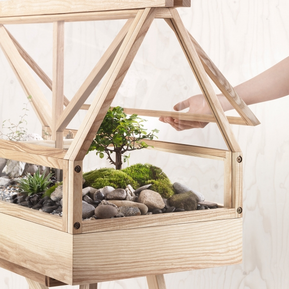 The Greenhouse Terrarium by Atelier 2+