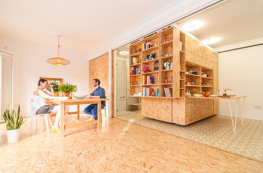 'All I Own House' in Madrid by PKMN architectures