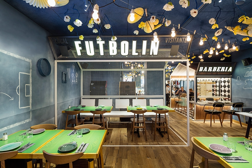 'Bellavista del Jardín del Norte' Restaurant in Barcelona by El Equipo Creativo