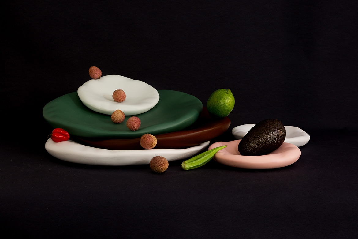 Canova - Collection of Plates by Constance Guisset Studio for Moustache