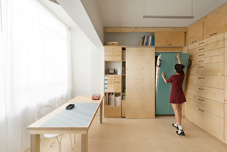 Studio for an Artist in Tel Aviv by RUST architects