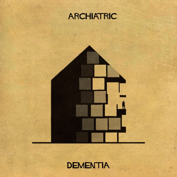 'ARCHIATRIC' Series of Illustrations by Federico Babina