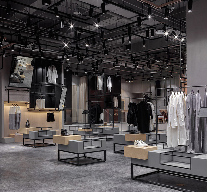'JOOOS Fitting Room' Store in China by X+Living