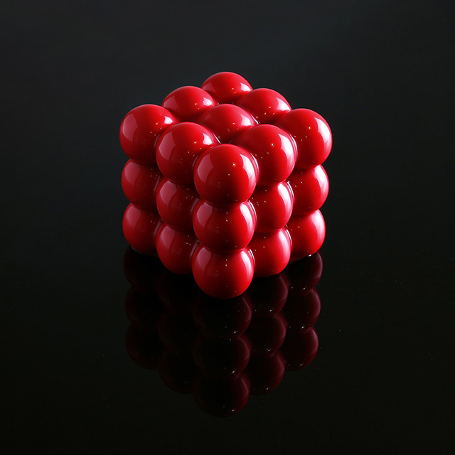 Geometric Pastry Art Made with 3D Printing by Dinara Kasko
