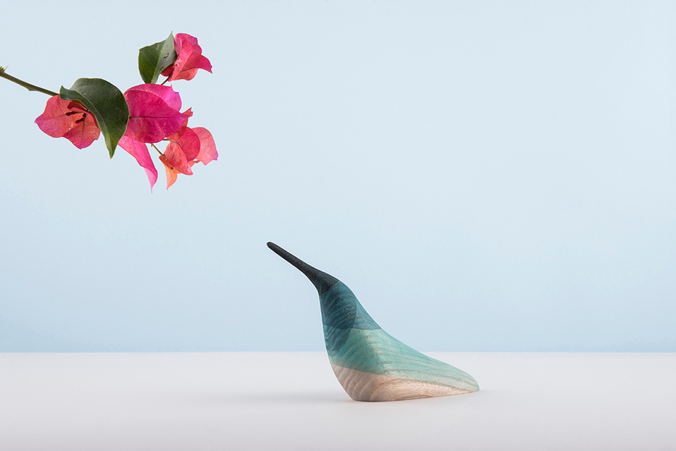 'Immersed Birds' by Moisés Hernández Design Studio