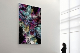'Wind of Boston' Series of Data Paintings by Refik Anadol Studio