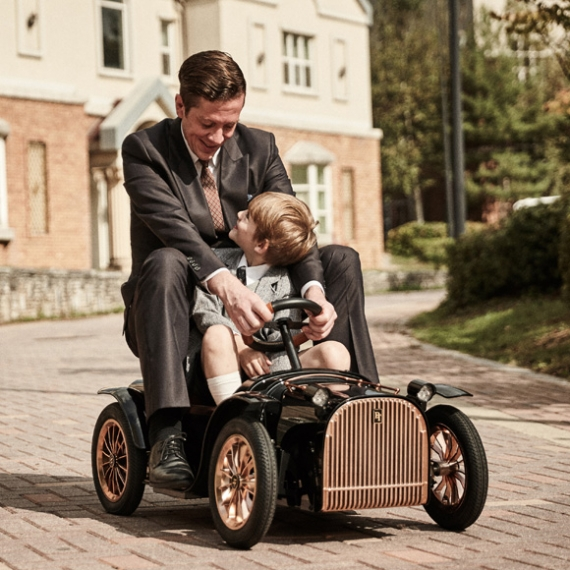 D.Throne S Premium Electric Kid Car